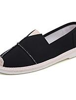 Недорогие -Муж. Комфортная обувь Полотно Осень Мокасины и Свитер Белый / Черный / Синий