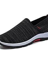 Недорогие -Муж. Комфортная обувь Tissage Volant Лето Мокасины и Свитер Черный / Серый