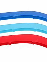 Недорогие -3 шт. Передняя решетка почки м стиль наклейка 3 цветная пряжка для bmw 5 серии 14-15