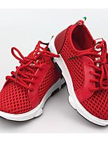 Недорогие -Мальчики / Девочки Обувь Сетка / Свиная кожа Весна & осень Удобная обувь Спортивная обувь для Дети Черный / Красный / Розовый / Резина