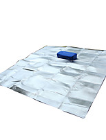 Недорогие -AOTU Коврик для пикника Укрытия и аксессуары для палаток На открытом воздухе Все сезоны Компактность Влагонепроницаемый Ультралегкий (UL) 300*300 cm ПВХ / винил Алюминий