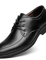 Недорогие -Муж. Официальная обувь Полиуретан Весна лето Мокасины и Свитер Для прогулок Ботинки Черный / Коричневый