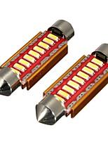 Недорогие -пара canbus безошибочно 9 светодиодных автомобильных купольных огней лампы накаливания гирлянда гирлянда номерного знака- 31 мм