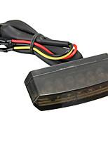 Недорогие -1 шт. Проводное подключение Мотоцикл Лампы 6 Светодиодная лампа Подсветка для номерного знака Назначение Мотоциклы Все года