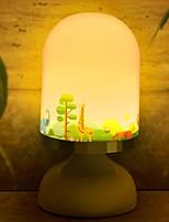 Недорогие -1шт лайтбокс LED Night Light Тёплый белый USB Творчество / Милый <=36 V