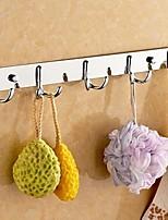 Недорогие -Крючок для халата Новый дизайн / Cool Modern Нержавеющая сталь / железо 1шт На стену