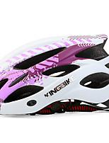 Недорогие -Kingbike Взрослые Мотоциклетный шлем BMX Шлем 17 Вентиляционные клапаны Легкий вес Сетка от насекомых Формованный с цельной оболочкой ESP+PC Виды спорта