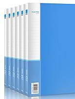 Недорогие -6 pcs deli 33221 Папки файлов A4 PP Custom Label