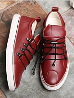 Недорогие -Муж. Официальная обувь Полиуретан Весна лето Мокасины и Свитер Для прогулок Ботинки Винный