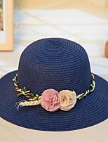 Недорогие -Жен. Праздник Соломенная шляпа Цветочный принт