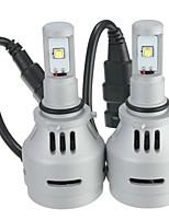 Недорогие -9006 hb4 9006xs ближний свет фар 4000lm белый 6500k светодиодные лампы