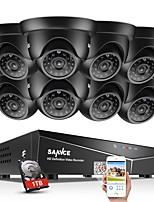 Недорогие -Система ночного видения с системой защиты от вирусов sannce® 8ch 8шт 720p с 1 ТБ HD