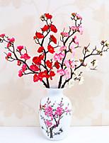 Недорогие -Искусственные Цветы 5 Филиал Классический Стиль Современный современный слива Букеты на стол