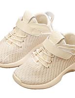 Недорогие -Девочки Обувь Сетка Осень Удобная обувь Спортивная обувь Для прогулок для Дети Черный / Бежевый