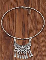 Недорогие -Жен. металлический / Мода ожерелья Однотонный