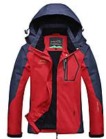 Недорогие -Жен. Куртка для туризма и прогулок на открытом воздухе С защитой от ветра Дожденепроницаемый Устойчивость к УФ Жакет Верхняя часть Двухсторонняя