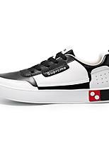 Недорогие -Муж. Комфортная обувь Полиуретан Весна Кеды Красный / Черно-белый / Черный / зеленый