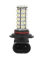 Недорогие -автомобиль 9006 3528 smd 68led лампа накаливания противотуманная фара лампа белая 5.5w 12v