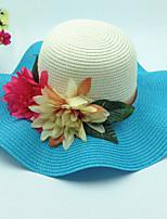Недорогие -Жен. Классический Шляпа от солнца Контрастных цветов
