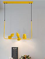 Недорогие -ZHISHU 3-Light геометрический / Оригинальные Люстры и лампы Рассеянное освещение Окрашенные отделки Металл Творчество, Новый дизайн 110-120Вольт / 220-240Вольт