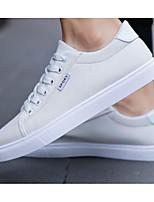 Недорогие -Муж. Комфортная обувь Синтетика Осень Кеды Белый / Черный / Серый