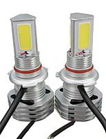 Недорогие -пара 39w 4500lm cob светодиодные фары h4 h7 h8 h9 h11 9004 9005 9006 9007 ip65