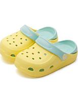 Недорогие -Девочки Обувь Этиленвинилацетат Лето Удобная обувь Тапочки и Шлепанцы для Дети Черный / Желтый / Розовый