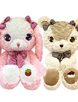 Недорогие -Rabbit Медведи Плюшевый медведь Мягкие и плюшевые игрушки Животные Очаровательный Хлопок / полиэфир Все Игрушки Подарок 1 pcs