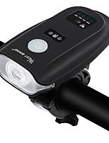 Недорогие -Светодиодная лампа Велосипедные фары Передняя фара для велосипеда Горные велосипеды Велоспорт Водонепроницаемый Портативные Легкость Литий-ионная 350 lm / АБС-пластик