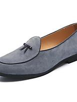 Недорогие -Муж. Официальная обувь Замша Весна & осень Мокасины и Свитер Бежевый / Серый / Желтый