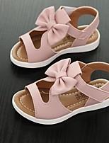 Недорогие -Девочки Обувь Полиуретан Лето Удобная обувь Сандалии для Дети / Для подростков Белый / Лиловый / Розовый