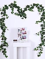 Недорогие -Искусственные Цветы 1 Филиал Классический Традиционный / классический Пастораль Стиль Pастений Цветы на стену
