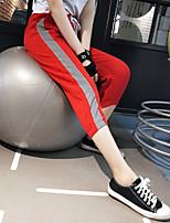 Недорогие -Жен. Гарем Сплетенные брюки Зеленый Розовый Хаки Виды спорта Мода Брюки Нижняя часть Спорт в свободное время Бег Фитнес Спортивная одежда Сохраняет тепло Легкость Быстровысыхающий Слабоэластичная