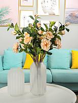 Недорогие -Искусственные Цветы 1 Филиал Классический Современный современный Традиционный / классический Камелия Вечные цветы Букеты на стол