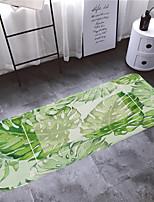 Недорогие -1шт Деревенский Коврики для ванны Коралловый Цветочный принт 5mm Ванная комната Противоскользящий / Легко очистить