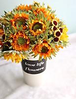 """Недорогие -Свадебные цветы Искусственные цветы Свадьба / Для праздника / вечеринки Ткань 10,63""""(около 27см)"""