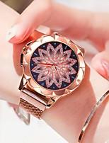 Недорогие -Жен. Наручные часы Кварцевый Розовое золото Защита от влаги Новый дизайн Аналоговый На каждый день Мода - Розовое золото