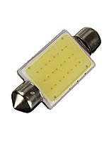 Недорогие -1pcs Автомобиль Лампы COB 100 lm 12 Светодиодная лампа Подсветка для номерного знака / Задний свет / Внутреннее освещение Назначение