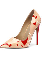 Недорогие -Жен. Искусственная кожа Весна лето Обувь на каблуках На шпильке Заостренный носок Серый / Розовый