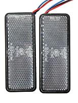Недорогие -2pcs Проводное подключение Мотоцикл Лампы Светодиодная лампа Задний свет / Украшения огней Назначение Универсальный / Toyota / Mercedes-Benz Все модели Все года