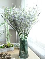 Недорогие -Искусственные Цветы 5 Филиал Классический Традиционный / классический Простой стиль Фиолетовый Вечные цветы Букеты на стол