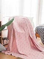 Недорогие -Одеяла / Диван Бросай / Многофункциональные одеяла, Полоски Хлопок Обогреватель Мягкость удобный одеяла