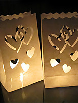 Недорогие -Бумажный декор Чистая бумага 1 комплект Свадьба
