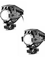 Недорогие -2pcs Проводное подключение Мотоцикл / Автомобиль Лампы 15 W 3000 lm Светодиодная лампа Налобный фонарь Назначение Мотоциклы Все года