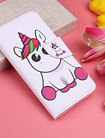 cheap -Case for Samsung Scene Picture Samsung Galaxy S20 S20 Plus S20 Ultra A51 A71 Cute painted pattern PU leather material card holder lanyard all-inclusive anti-fall mobile phone case HX