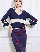 Недорогие -женские юбки длиной до колена - цвет блока