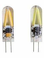 Недорогие -2pcs 2 W 150 lm G4 Двухштырьковые LED лампы T 2 Светодиодные бусины COB Для вечеринок / Декоративная / Новогоднее украшение для свадьбы Тёплый белый / Холодный белый 12 V