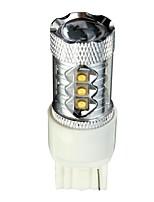 Недорогие -1pcs T20 (7440,7443) Автомобиль Лампы 8 W 1000 lm 12 Светодиодная лампа Противотуманные фары / Фары дневного света / Тормозные огни Назначение Все года