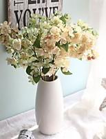 Недорогие -Искусственные Цветы 2 Филиал Классический Традиционный / классический Простой стиль Сакура Вечные цветы Букеты на стол