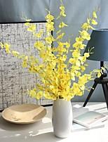 Недорогие -Искусственные Цветы 5 Филиал Классический Традиционный / классический европейский Фиолетовый Вечные цветы Букеты на стол
